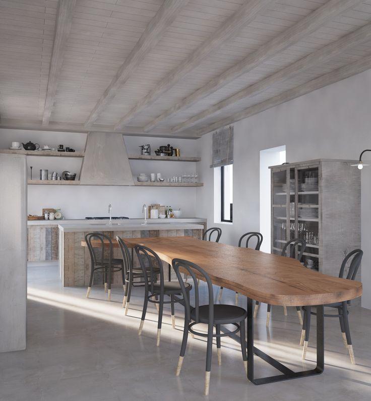 Mykonos # AlexandraKoulouri&IoannaMari  #MostChicInteriors&Ideas  #Interiordesigners #Inspiration #decorvibes #kitchen
