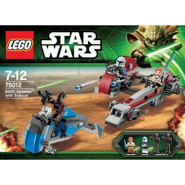 LEGO Star Wars #75012 - BARC Speeder with sidecar