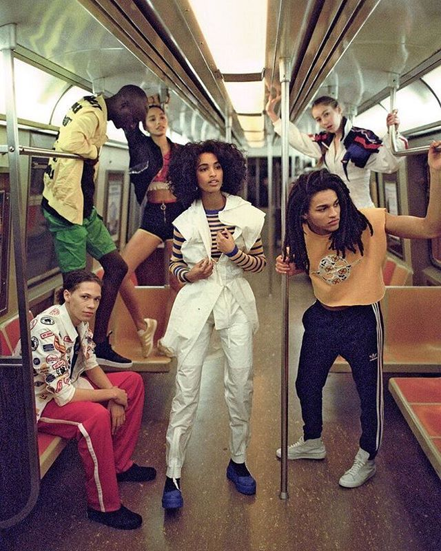 Brands like #PublicSchool and #Fendi are proof athleisure is more than just fad. It's a veritable style the fashion world is embracing for good... and we have hip-hop to thank. Born in the Bronx in the 70s hip-hop culture was defined by block parties and break dancing MCs and b-boys. Tracksuits and sneakers were the uniform of choicethe relaxed styles complemented the ways the culture expressed itself. As hip-hop grew in popularity brands like Tommy Hilfiger and Reebok began incorporating…