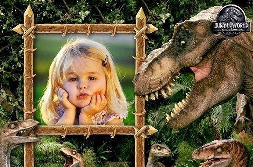 Fotomontajes de Jurassic Park Dinosaurios