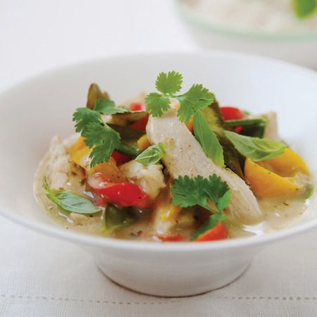 The Hairy Dieters recipe: Very easy Thai chicken & coconut curry. 286 calories