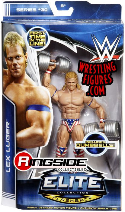 Lex Luger - WWE Elite 30 | Ringside Collectibles