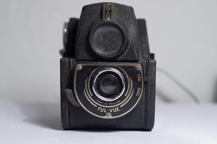Vintage Ensign Ful Vue 120 film Camera #Ensign