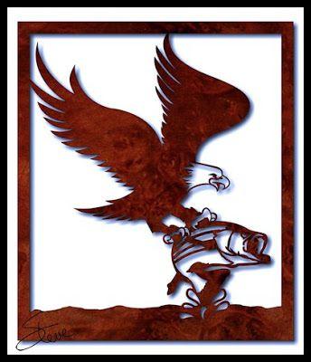 New PDF catalog information. Plus Large Eagle Hunter Scroll Saw Pattern.