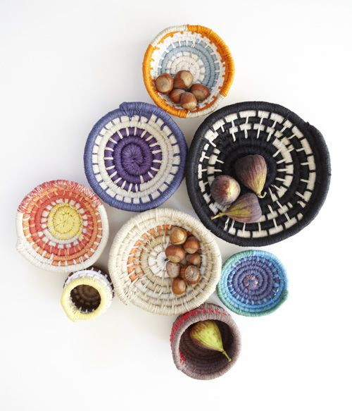 Coiled Bowl DIY via Made by Hand on design*sponge. Awesome!