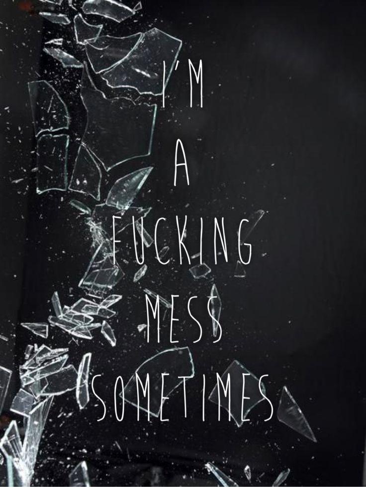"EDEN lyrics, Drugs lyrics, Drugs by EDEN, ""Im a fucking mess sometimes"""