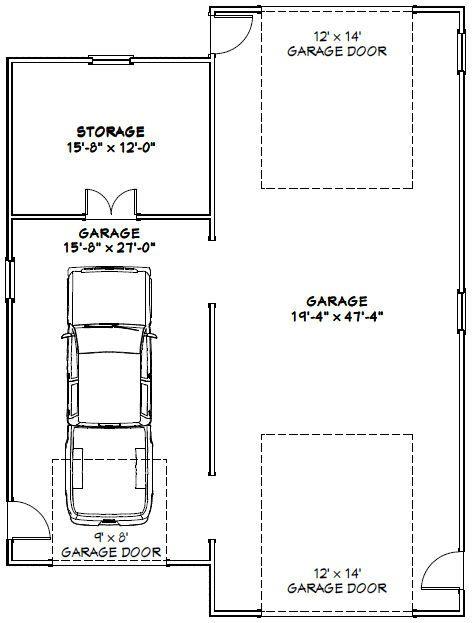 36x48 1-RV 1-Car Garage -- #36X48G1 -- 1600 sq ft - Excellent Floor on house floor plans 8x10, house floor plans 16x30, house floor plans 40x50, house floor plans 16x16, house floor plans 28x42, house floor plans 24x40, house floor plans 12x24, house floor plans 30x40,