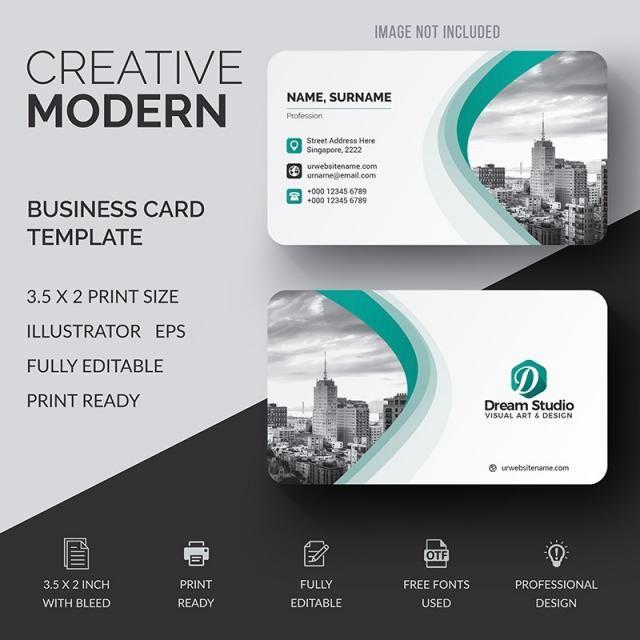 Corporate Business Card Tarjetas De Visita Creativas Diseno De Tarjetas De Negocio Tarjetas Personales Modernas