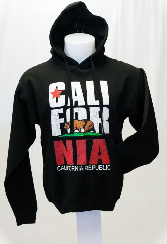 California Republic  Sweatshirt CaliForNia by BackToCaliStore, $19.99