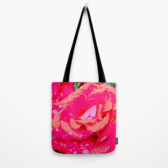 Rose Tote Bag by lisamccoy | Society6