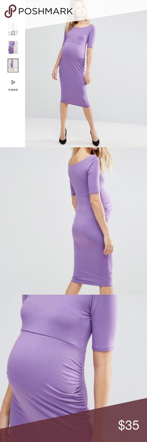 1721 best my posh picks images on pinterest asos maternity nwt asos maternity lilac color dress size 4 boutique ombrellifo Image collections