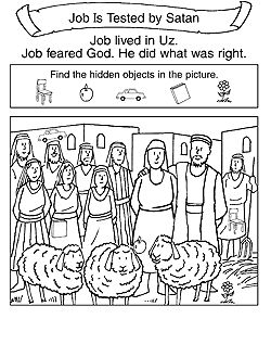 Great Children's Bible lessons in the form of a bulletin