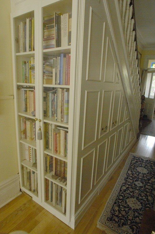 Custom Made Under Stair Storage