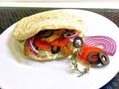 Gyros - Pita - Taschen, ein sehr leckeres Rezept aus der Kategorie Snacks und kleine Gerichte. Bewertungen: 18. Durchschnitt: Ø 3,9.