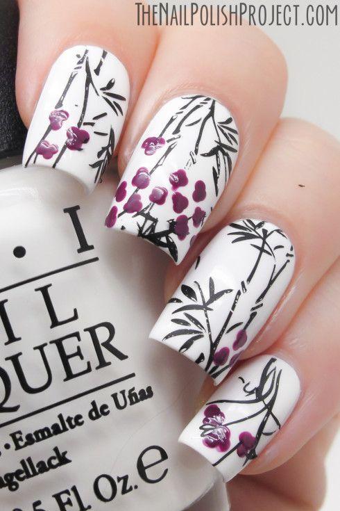 The Nail Polish Project 31DC2013 Day 27 Inspired By Artwork #nail #nails #nailpolish #nailart