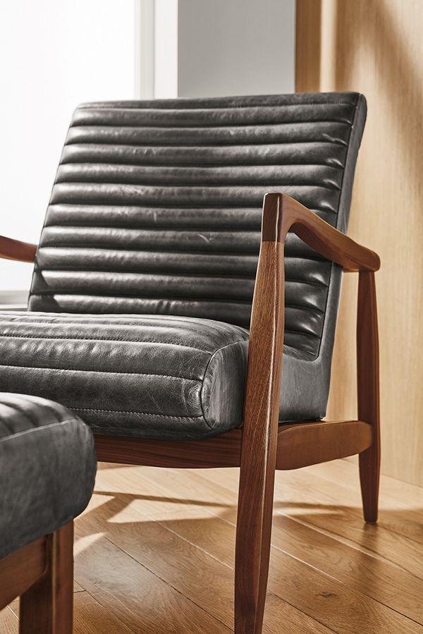 Callan Chair Ottoman Modern Accent Lounge Chairs Modern Living Room Furniture Chair Ottoman Chair Modern Chairs