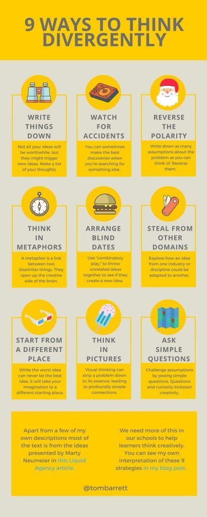 9 Ways to Think Divergently - The Curious Creative