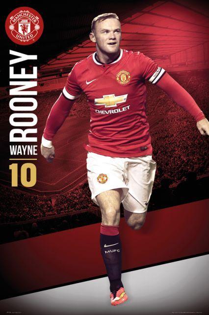 Manchester United Wayne Rooney 14/15 - plakat - 61x91,5 cm  Gdzie kupić? www.eplakaty.pl