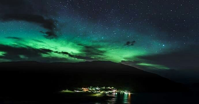 #Repost @jameskelly_photo  Sitting here reminiscing of freezing temperatures and random bursts of 60mph winds but the most beautiful and awe inspiring glow from the sky!  Photographing the Aurora in the Faroe Islands has been a highlight of my photography journey.  This is the village of #sandvik beneath the #auroraborealis in January. Prints will be available to buy from my website.  See my profile for more details.  #aurora_wold #FaroeIslands #visitfaroeislands #visitsuduroy #visitsuðuroy…