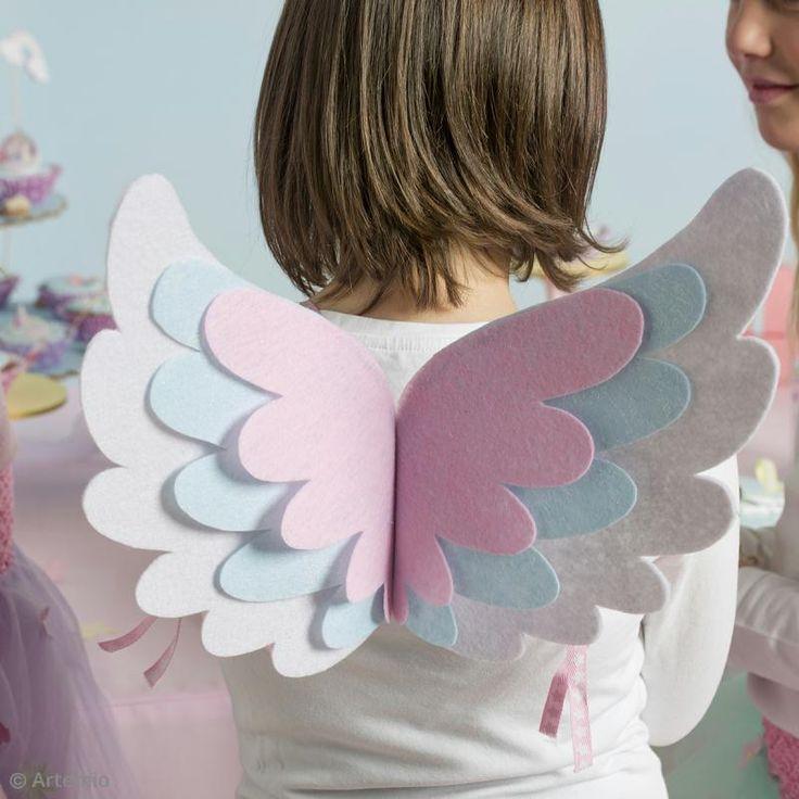 DIY : Fabriquer des ailes en feutrine