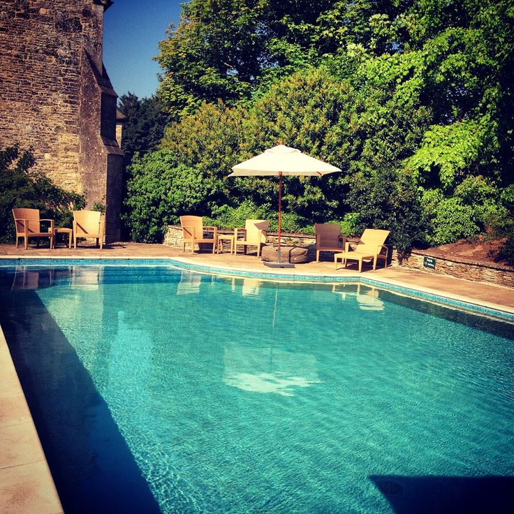 The Outdoor Oool At Calcot Manor Hotel Near Tetbury In Cotswolds Http