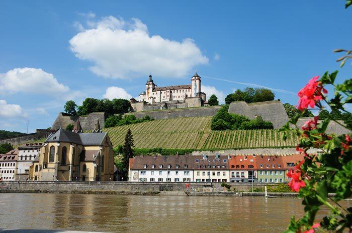 Sehenswürdigkeiten in Würzburg - Die Festung Marienberg