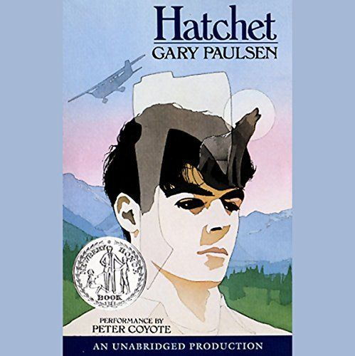 """Another must-listen from my #AudibleApp: """"Hatchet"""" by Gary Paulsen, narrated by Peter Coyote."""