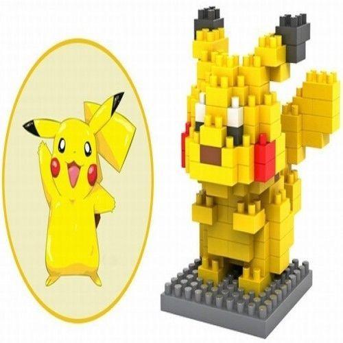 Loz Pokemon Go - Pikachu - Nano Blocks Building Toys Pocket Mini