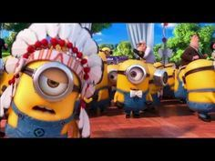 Minions Sing their version of YMCA in Despicable Me 2 - YouTube