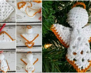 Square Angels – Easy Crochet Free Pattern