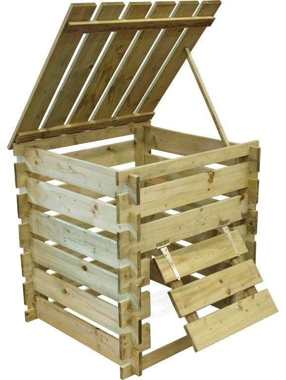 compost bin wood ; Gardenista