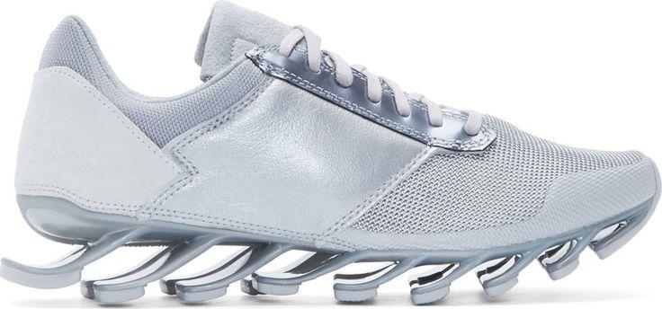 Rick Owens Silver adidas by Rick Owens Springblade Sneakers
