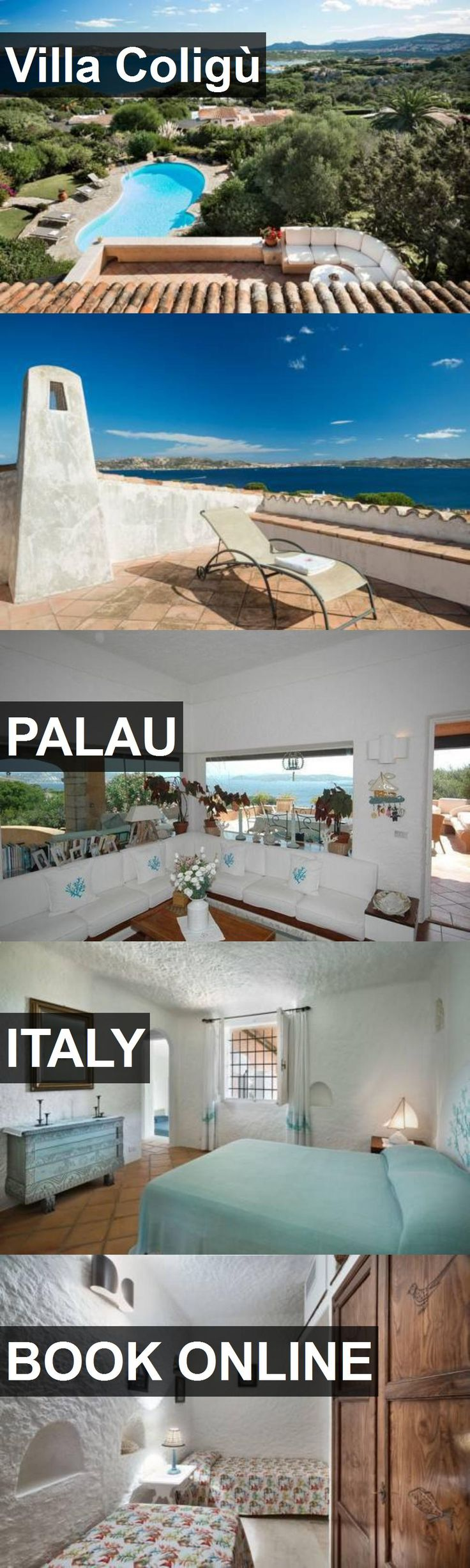 Hotel Villa Coligù in Palau, Italy. For more information, photos, reviews and best prices please follow the link. #Italy #Palau #travel #vacation #hotel