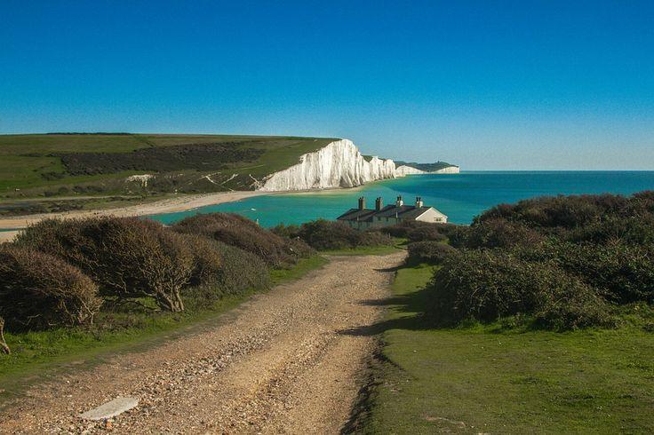 Seven Sisters: le bianche scogliere di gesso dell'East Sussex!