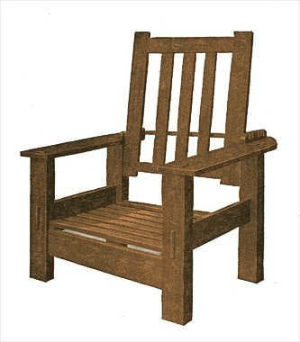 20 best images about morris chair plans on pinterest for Chair design 2000