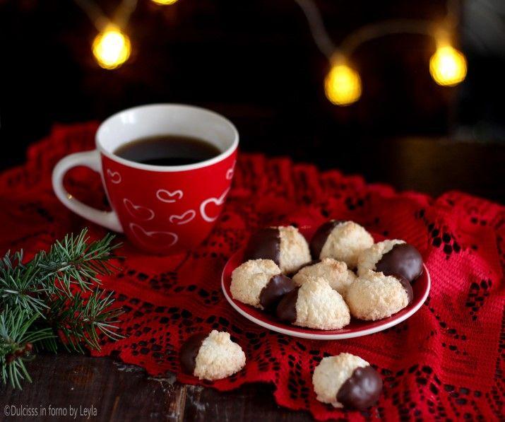 Biscotti+al+cocco+e+cioccolato