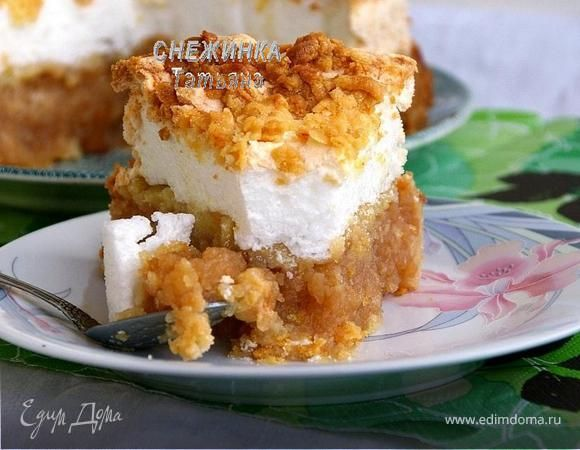 Самый нежный «Польский яблочный пирог». Ингредиенты: сливочное масло, мука, сахар