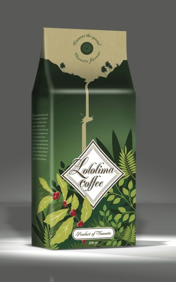 Packaging cafe - Supermarket by Tommy D.Raimana - Pirog', via Behance PD