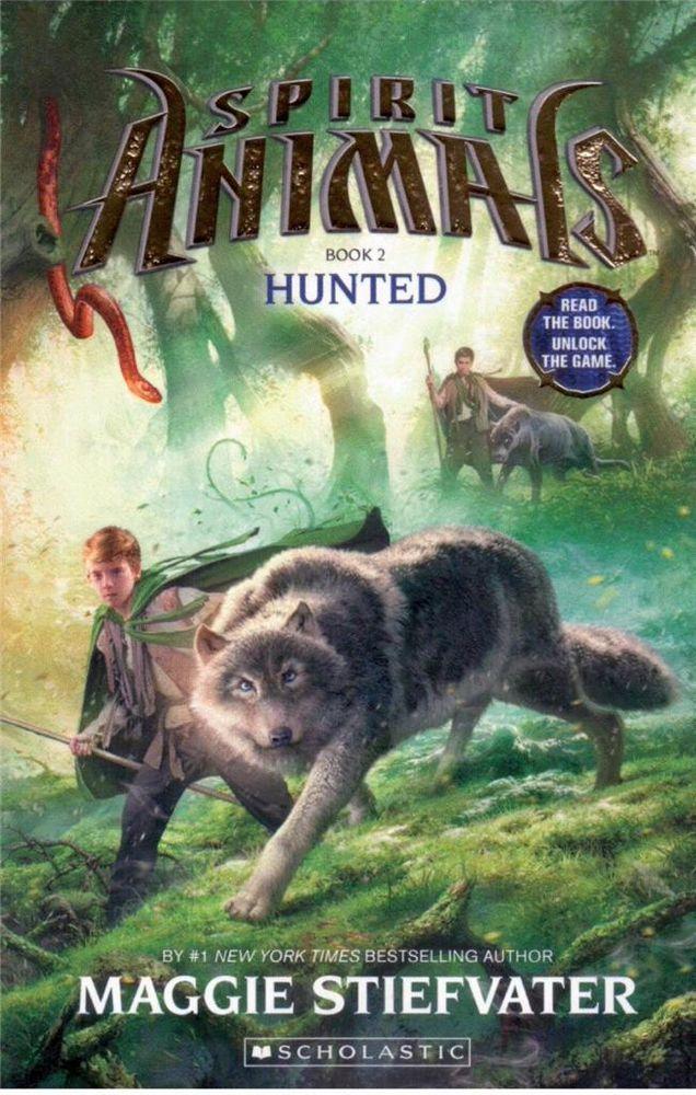 Spirit Animals - Book 2 - Hunted by Maggie Stiefvater - NEW