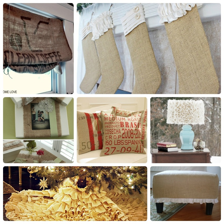 Burlap Tutorials | Dreaming All Day