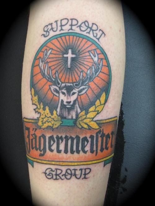 Jagermeister Tattoo Support Group :D | Tattoos | Pinterest ...