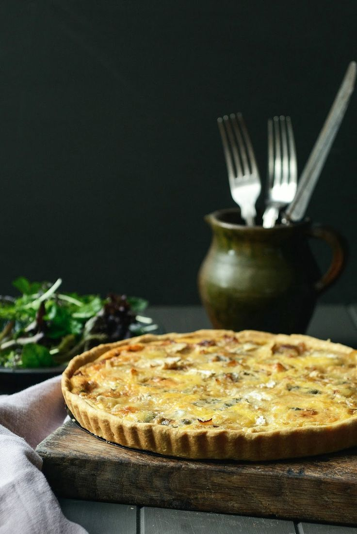 From The Kitchen: Pancetta, Onion and Three Cheese Tart