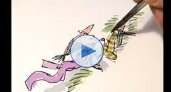 10 minutes of illustration with Quentin Blake – part three