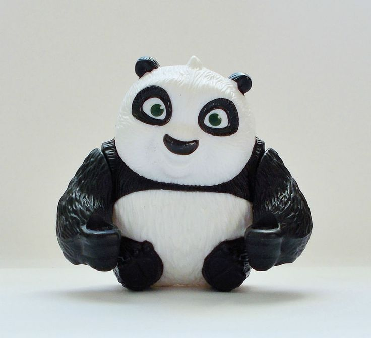 Kung Fu Panda - Baby Po 2 - Action Toy Figure - Cake Topper