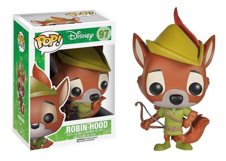 Funko POP! Disney ROBIN HOOD #97 Vinyl Figure #funko #pop #disney #robinhood #vinyl #toy #vaulted