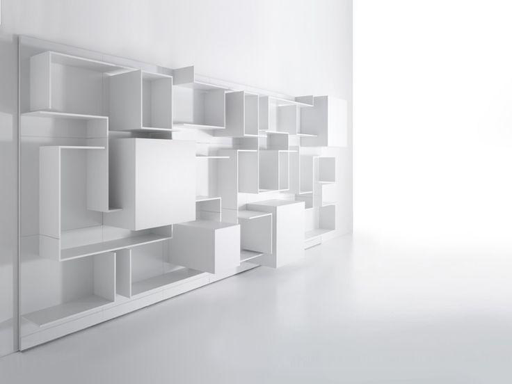 Sectional MDF Storage Wall VITA By MDF Italia | Design Massimo Mariani,  Aedas R