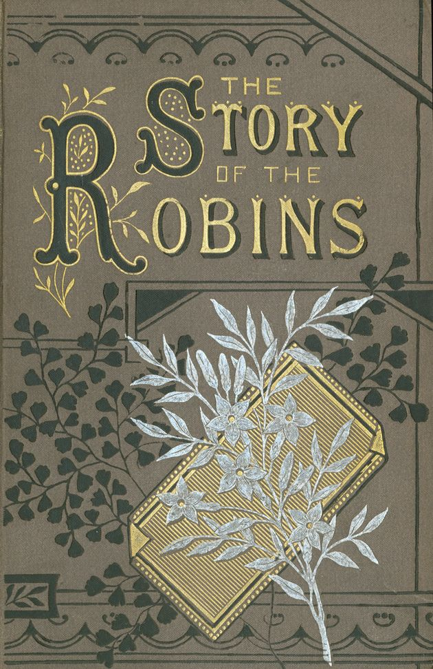 The Story of the Robins   inscription 1888