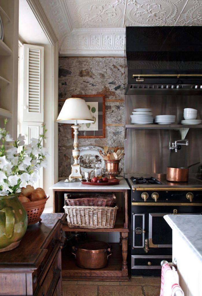 Une Elegante Maison De Campagne Anglaise En 2019 Cuisines De