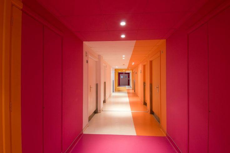17 best images about corridor design on pinterest for Design hotel 69