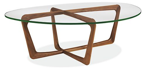Dunn Cocktail Table with Glass Top - Cocktail Tables - Living - Room & Board